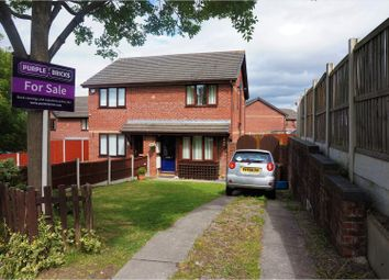 Thumbnail 2 bed semi-detached house for sale in Pembry Rise, Deeside
