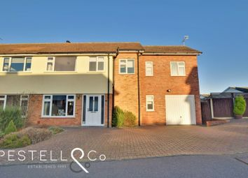 Thumbnail 4 bed semi-detached house for sale in Tenterfields, Dunmow
