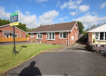 Thumbnail 1 bed semi-detached bungalow to rent in Silver Close, Biddulph, Stoke-On-Trent