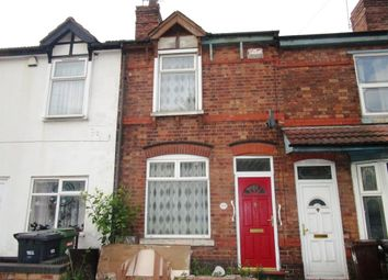 2 bed terraced house for sale in Willenhall Road, Eastfield, Wolverhampton WV1