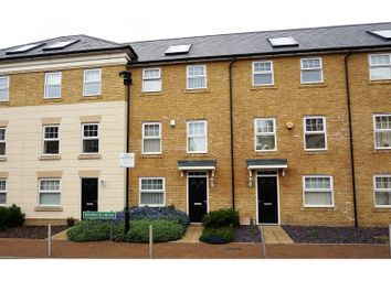 Thumbnail 4 bed town house for sale in Renwick Drive, Bromley