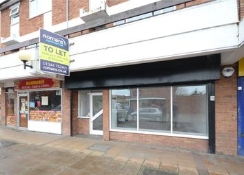 Thumbnail Retail premises to let in Ashridge Road, Wokingham, Berkshire