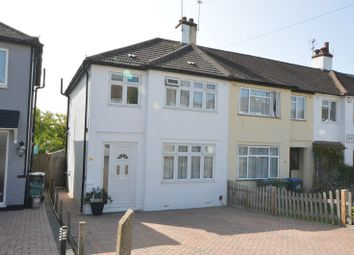Thumbnail 3 bed end terrace house for sale in Chantry Road, Chessington, Surrey.