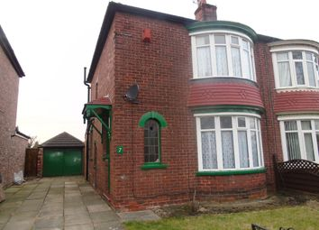Thumbnail 2 bedroom semi-detached house for sale in Lexden Avenue, Middlesbrough