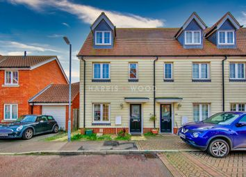 Thumbnail 3 bed end terrace house for sale in Weyland Drive, Stanway, Colchester