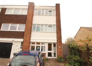 Thumbnail 4 bed end terrace house for sale in Samantha Close, London