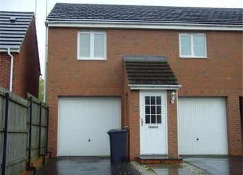Thumbnail 2 bed flat to rent in Weavers Close, Whitwick, Coalville