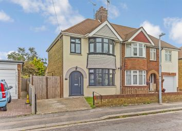 Thumbnail 3 bed semi-detached house for sale in Eastwood Road, Sittingbourne