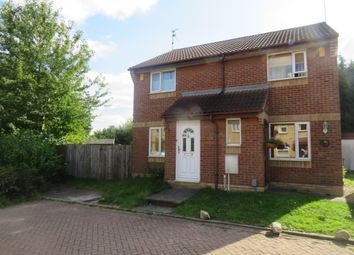 Thumbnail 2 bed semi-detached house for sale in Lansdowne Walk, Orton Longueville, Peterborough