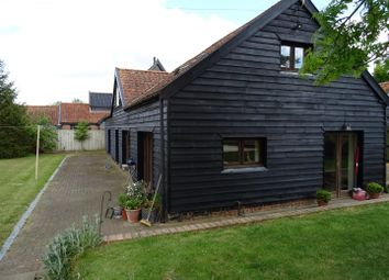 Thumbnail 3 bed barn conversion for sale in Mill Road, Wyverstone, Stowmarket