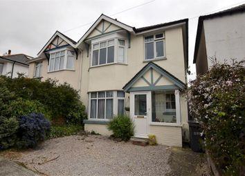 Thumbnail 3 bed semi-detached house for sale in Cedar Road, Preston, Paignton, Devon