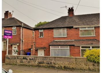 Thumbnail 3 bed semi-detached house for sale in Barnfield Road, Stoke-On-Trent