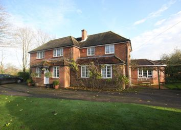 Thumbnail 5 bed detached house to rent in Sparsholt, Winchester