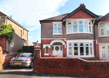 Thumbnail 3 bed semi-detached house for sale in Earl's Court Road, Penylan, Cardiff