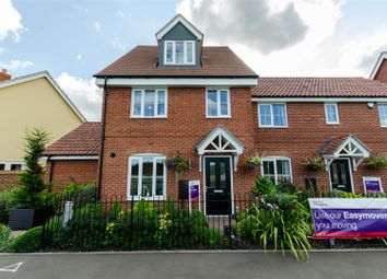 Thumbnail 3 bed terraced house for sale in Goldfinch Drive, Attleborough