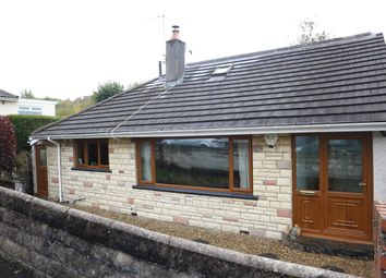 Thumbnail 4 bed detached bungalow for sale in The Oval, Thomastown, Merthyr Tydfil