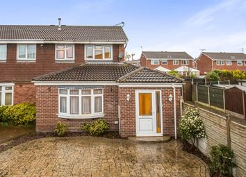 Thumbnail 3 bed semi-detached house for sale in The Pastures, Newhall, Swadlincote