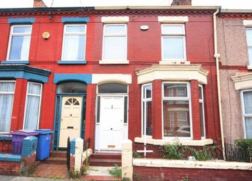Thumbnail 3 bedroom terraced house for sale in Woodcroft Road, Wavertree, Liverpool