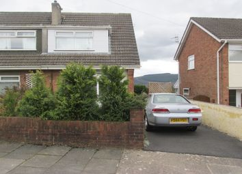 Thumbnail 3 bed semi-detached house for sale in Derwent Drive, Cwmbach, Aberdare
