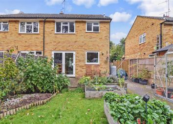 Thumbnail 3 bed semi-detached house for sale in Longpoles Road, Cranleigh, Surrey