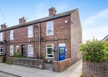 Thumbnail 2 bed terraced house for sale in Church Row Doncaster Road, Whitley, Goole