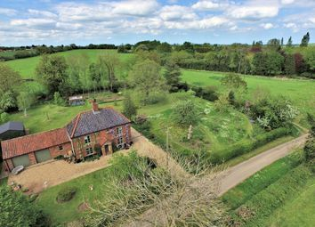 Thumbnail 4 bed detached house for sale in Church Lane, Hackford, Wymondham