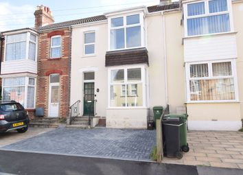 Thumbnail 3 bed terraced house to rent in Emmadale Road, Weymouth