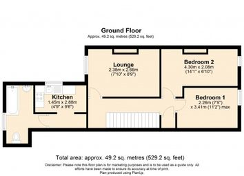 Thumbnail 2 bed flat to rent in Cross Lane, Newton-Le-Willows