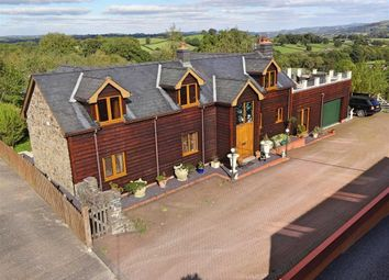 Thumbnail 4 bed barn conversion for sale in The Stables, Perth Y Bu, Mochdre, Newtown, Powys