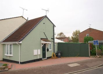 Thumbnail 1 bed end terrace house for sale in Appletree Road, Hatton, Derby