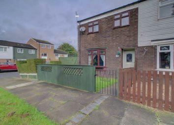 Thumbnail 3 bed end terrace house to rent in Darwen Court, Hemlington, Middlesbrough