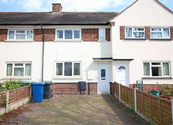 Thumbnail 2 bedroom town house to rent in Manor Road, Bolehall, Tamworth, Staffordshire
