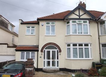 Thumbnail 5 bed semi-detached house for sale in West Broadway, Henleaze, Bristol