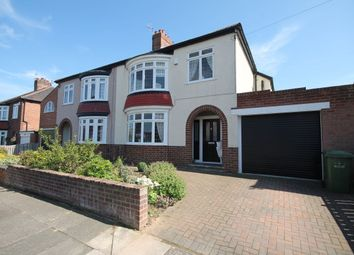 Thumbnail 3 bed semi-detached house for sale in Kilburn Road, Hartburn, Stockton-On-Tees