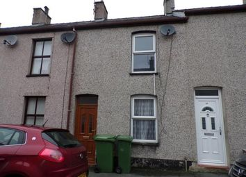 Thumbnail 2 bed terraced house for sale in William Street, Caernarfon