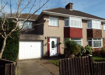 Thumbnail 4 bedroom semi-detached house for sale in Sunningdale Avenue, Mayals, Swansea