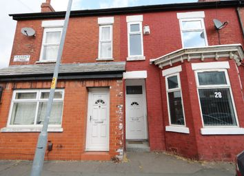 Thumbnail 3 bed terraced house to rent in Grandale Street, Rusholme, Manchester