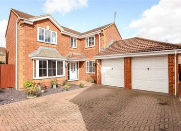 Thumbnail 4 bed detached house for sale in Chasewood, Peatmoor, Swindon
