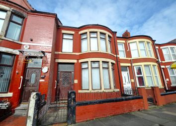 Thumbnail 3 bed terraced house for sale in Poulton Road, Wallasey