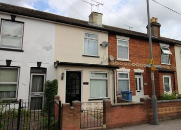 Thumbnail 2 bed terraced house for sale in 271 Spring Road, Ipswich, Suffolk