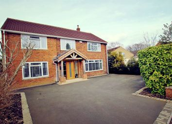 Thumbnail 4 bed detached house for sale in Sandringham Road, Swindon