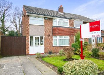 Thumbnail 3 bed semi-detached house for sale in Fernlea, Heald Green, Cheadle, Greater Manchester