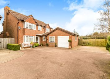 Thumbnail 4 bed detached house for sale in Walnut Close, Brackley