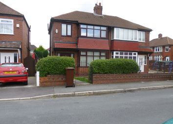 Thumbnail 3 bed semi-detached house for sale in Stanage Avenue, Blackley, Manchester