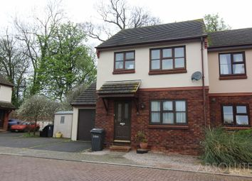 Thumbnail 3 bed semi-detached house to rent in Nightingale Close, The Willows, Torquay