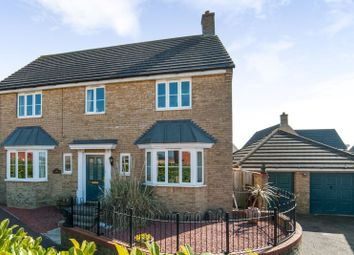 Thumbnail 4 bed detached house for sale in Fieldfare Close, Stowmarket, Suffolk