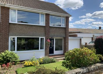 Thumbnail 3 bed semi-detached house for sale in Remus Avenue, Heddon-On-The-Wall, Northumberland