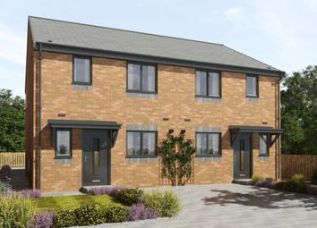 Thumbnail 3 bed semi-detached house for sale in Marley View, Marley Hill, Newcastle Upon Tyne