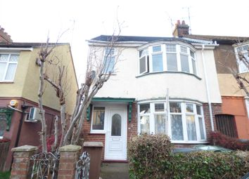 Thumbnail 2 bed semi-detached house to rent in Chandos Road, Luton