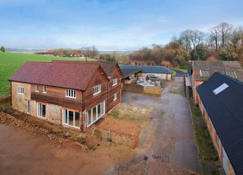 Thumbnail 4 bed farmhouse for sale in Chart Lane, Nr. Westerham